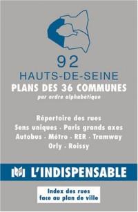 Plans des communes des hauts-de-seine