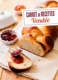 Carnet de recettes de vendée