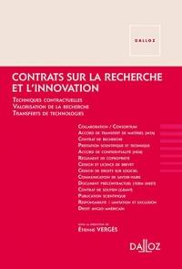 Contrats sur la recherche et l'innovation - Nouveauté: Techniques contractuelles dans les sciences, la valorisation des résultats et les transferts de tech