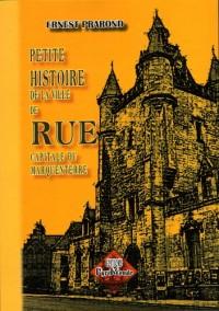 Petite Histoire de la Ville de Rue