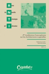 RNTI - Revue des Nouvelles Technologies de l'Information