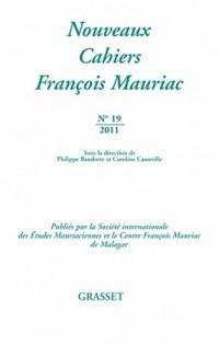Nouveaux cahiers François Mauriac Nº19