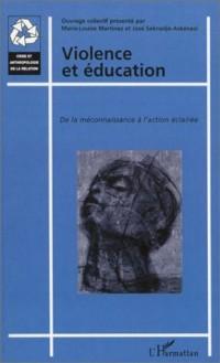 Violence et éducation : De la méconnaissance à l'action éclairée