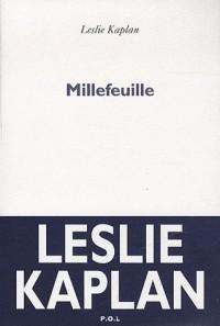 Millefeuille - Prix Wepler 2012