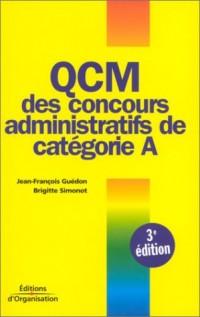 QCM des concours administratifs de catégorie A