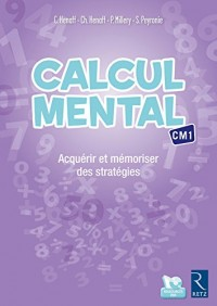Calcul mental CM1 (+ CD-Rom)