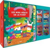 Ma fabrique à histoire - Les mini-héros de la forêt (Livre + marionnettes à doigts)