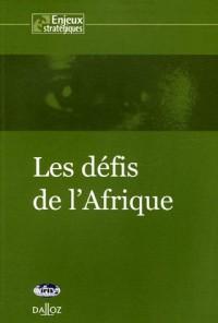 Les défis de l'Afrique