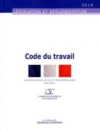 Code du travail (2 volumes)- Brochure 20021 - Edition au 12 février 2010