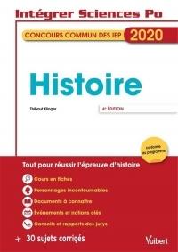 Sciences Po - Concours commun des IEP - Histoire - Tout pour réussir l'analyse de documents - Concours 2020