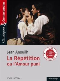 La Répétition ou l'Amour puni