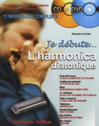 Je Débute l'Harmonica (+ 1 CD + 1 DVD)