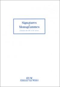 Signatures et Monogrammes d'artistes des XIXe et XXe siècles