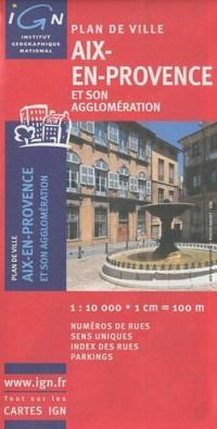72361 Plan d'Aix-en-Provence 1/10.000