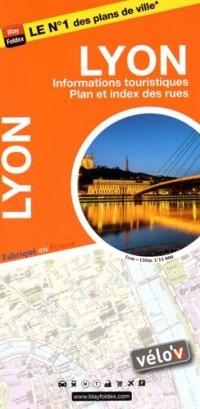 Lyon : 1/15 000, avec livret