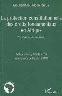 La protection constitutionnelle des droits fondamentaux en Afrique : L'exemple du Sénégal
