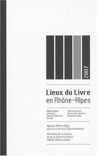 Lieux du livre en Rhône-Alpes