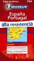 España Portugal alta resistencia : 1/1 000 000