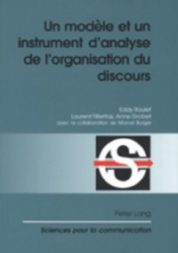 Modele Et UN Instrument d'Analyse De l'Organisation Du Disco