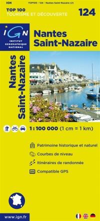 Top100124 Nantes/St-Nazaire  1/100.000