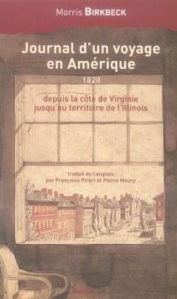 Journal d un Voyage en Amerique