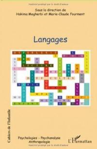 Les cahiers de l'infantile : Langages