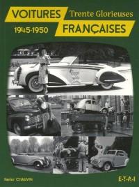 Voitures françaises : 1945-1950