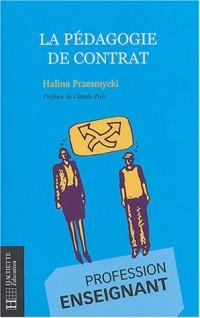 La pédagogie de contrat : Profession enseignant