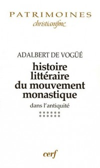 Histoire littéraire du mouvement monastique dans l'antiquité : Première partie, Le monachisme latin, Tome 12, A l'aube du Moyen Age (650-830)