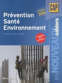 Prévention Santé Environnement CAP : Avec évaluations