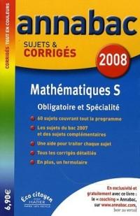 Mathématiques S : Sujets et corrigés