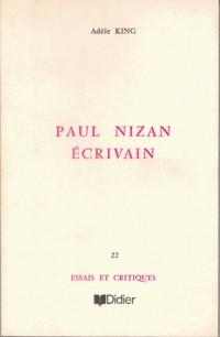Paul nizan écrivain