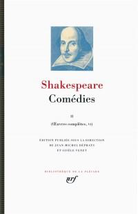Œuvres complètes, V-VII:Comédies (Tome 2)