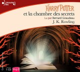 Harry Potter et la Chambre des Secrets CD [Livre audio]