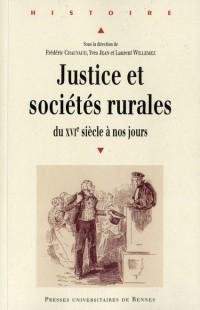 Justice et Societes Rurales