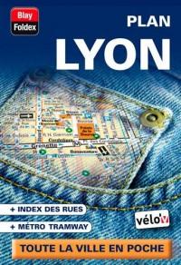 Lyon (69) - Plan de Ville de Poche 2013 - 1/13 300