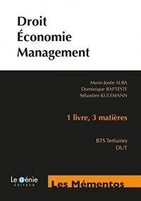 Droit-économie-management