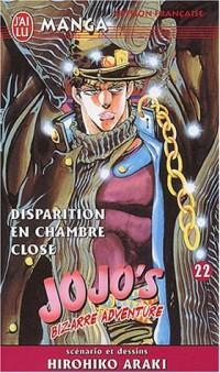 Jojo's Bizarre Adventure, tome 22 : Disparition en chambre close