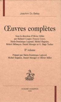 L'olive et quelques autres oeuvres poétiques 2e volume : Oeuvres complètes
