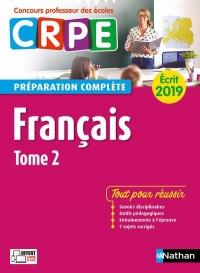 Français – Épreuve écrite 2019 – Tome 2