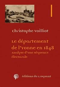 Le département de l'Yonne en 1848 : Analyse d'une séquence électorale