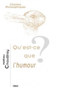 Qu'est-ce que l'humour?