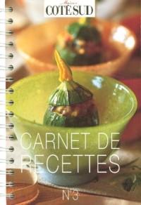 Carnet de recettes Côté Sud