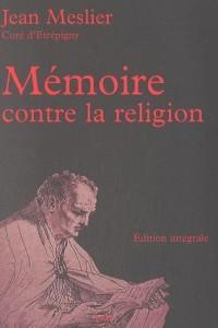 Mémoire contre la religion