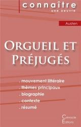 Fiche de lecture Orgueil et Préjugés de Jane Austen (Analyse littéraire de référence et résumé complet)