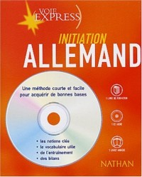 Allemand : Initiation (2 livres + 1 CD audio)