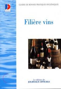 Filière vins : Guide de bonne pratiques d'hygiène