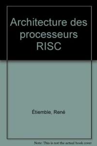 Architecture des processeurs RISC