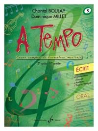A Tempo - Partie Ecrite - Volume 5
