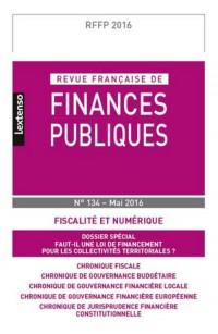 Rffp - Revue Française de Finances Publiques N 134-2016